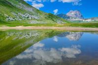 Pietranzoni lake, Gran Sasso - Italy