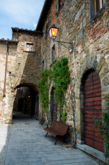 Volpaia. La Toscana. Italia. Europa.