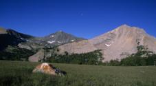 Koch Peak and Basin in the Lee Metcalf Wilderness, Montana