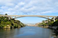 Infante bridge in Oporto, Portugal