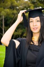 Cheerful Uni Graduate