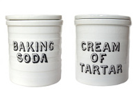 Old baking jars
