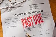 Past Due Internet Bill Invoice
