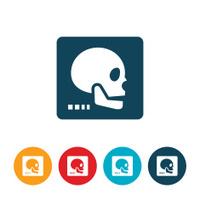 Human X-ray Icon