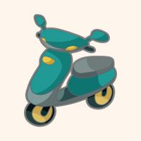 transportation motor theme elements