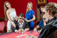 Table for poker gambling