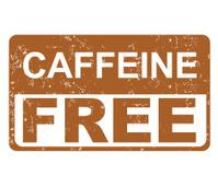 caffeine free label