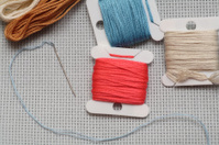 Preparations for embroidery (Cross-Stitch)