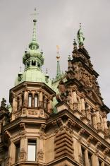 Hamburg Rathaus (detail)