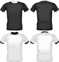 Buy black shirt template front and back - 58% OFF! Share discount