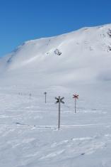 Snowmobile trails
