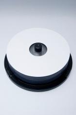 blank dvd pile