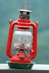 old petrol lamp