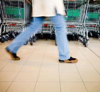 Supermarket buyer - Shopping carts