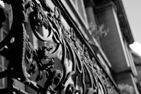 iron flower balcony
