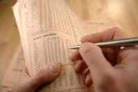 reading newspaper series