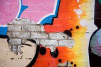 orange peel graffiti