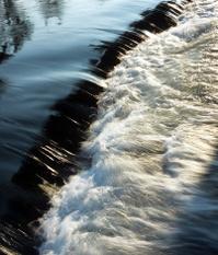 """Water Flowing.""""vertical"""""""