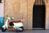 Scooter and Door