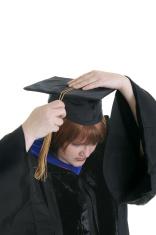 Graduation - Turning the Tassel
