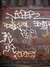 Alphabet City: Outdoor Graffiti 01