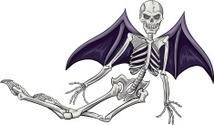 winged skeleton 2