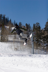 Gray Snowboarder
