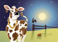Cow with an Attitude