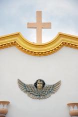 Angel and Crucifix
