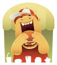 fat boy's meal
