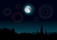 Moon Over Mardi Gras