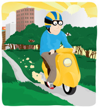 Moped Adventure
