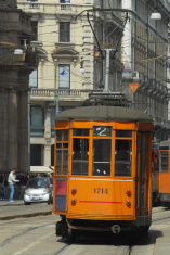 Tram in Milano