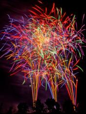 Isesaki fireworks: 4