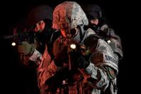 SWAT Team Under Cover of Darkness