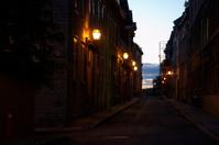 Sunrise street view