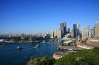 Sydney CBD Buildings Skyline