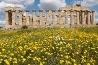 Griechische Tempel in Selinunte, Sizilien