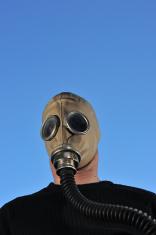 Retro gas mask