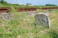 Railway milestone