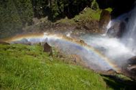 Rainbow in a Yosemite Waterfall