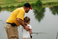 Daddy Helps Fish