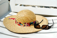 Sun Hat and Sunglases
