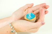 Cupcape in a hand is precious