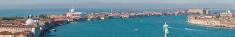 Venice lagoon islands panorama