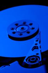 blue hard drive