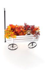 Wagon Full of Autumn Leaves