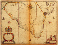 Map of Brasil 1635