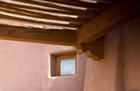 Adobe Building,  Pueblo Revival Style