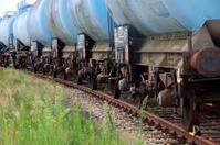 Chemical train wagons